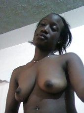 Pictures of a naked black slut