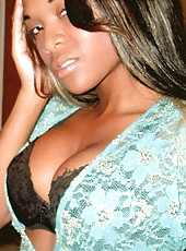 Three hot and sexy ebony babes and their photos