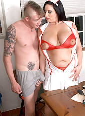 Kitty Lee Is Nurse Big Tits