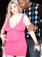 The Voluptuous Blonde And The Big, Black Cock