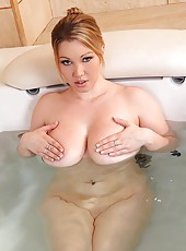 Lyla Ashby Plays With Her 34F Paps