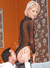 Wiska gets fucked in pussy & ass