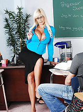 Marco has a ski trip to Sweden coming up, so he signs up for a Swedish class, taught by the amazingly lovely Puma Swede. He figures if he knows Swedish, he