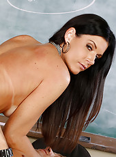 India Summer is a hot teacher and she decides to fuck one of her students while no one else is around.