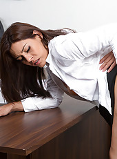 Raylene is a hot teacher who loves to fuck her students to keep them in line.