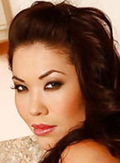London Keyes is a hot Asian housewife who knows how to keep her husband pleased. She bakes him his favorite cookies in nothing but her bra and panties. After he