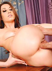 Gorgeous Jasmine Delatori has great sex with big cocked married guy.