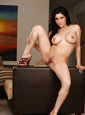 Sativa Rose strips and poses in all sorts of beautiful but naughty positions.