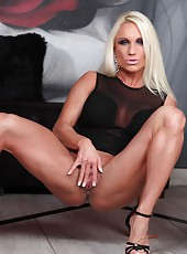 Ashlee Chambers is not only beautiful she has the whole package, Abs, Legs, Back, Arms and a great Ass.