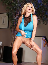 The beautiful Rachel Aziani uses her magic wand for the first time.