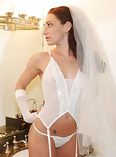 Horny milf bride fucks young stud before she gets married patite big ass