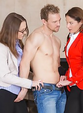 Only when erik signed off on the sale with samanthas full commission that he was finally allowed to climax and pop his load all over lilly and her gorgeous ass