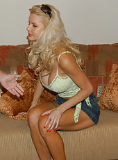 Steamy hot milf gets nailed and jizzed on in these pics