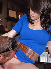 You have to check out this amazing long leg milf waitress get rammed hard in these amateur milf fuck pics