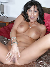 This hot milf momma gets naild on her lunch break while she goes shopping for lingerie for her husband to see