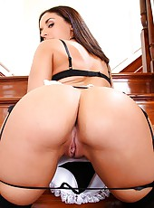 4 super hot ass lingerie maids fucked hard in this hot maid for hire to fuck pic set tiffany brooks