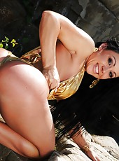 Amazing big tits hot ass cherokee gets her hot body fucked hard by the pool in these slammin pics