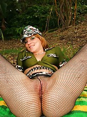 Amazing bryanna get her monster curves fucked hard in these super hot outdoor camping style pics