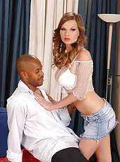 Tarra White in hot interracial sex