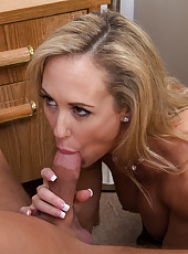 Hot Brandi Love has good sex with her big cocked boss.