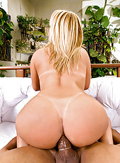 Hot brazilian pink bikini babe gets her plump ass pounded hot