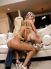 Gina Lynn and Shawna Lenee