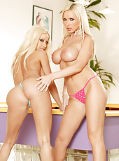 Nikki Benz and Gina Lynn