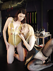 Nina Hartley and Anastasia Pierce