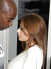 Sexy redhead milf Alison Star banged by huge black cock of Sean Michaels