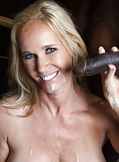 Blonde milf Totaly Tabitha anal interracial sex with good cock suck