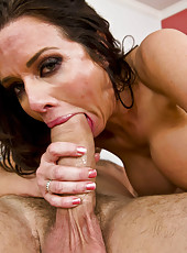 Veronica Avluv gives an amazing blowjob and gets a cock in the tight hole