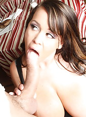 Lucky guy got a pair of large succulent boobs and tight pussy by Brandy Talore