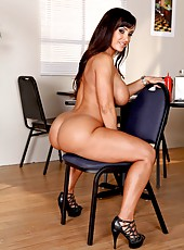 Incredibly hot and unforgettable business lady with great breast Lisa Ann