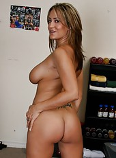 Trina Michaels and her beautiful big tits and delicious and gentle nipples