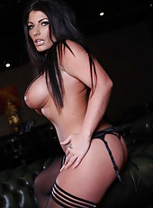 One of the hottest milfs ever - mesmerizing brunette Tara Blows teases us
