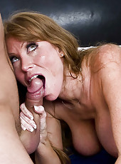 Hot and experienced milf Darla Krane achieves satisfaction with big dick