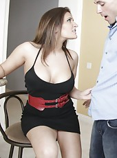 Sparkling pornstar Austin Kincaid prefers to be drilled only in doggystyle