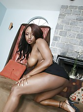 Interracial lesbian action with nasty chicks named Jada Fire and Ricki White