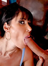 Awesome anal fuck with a dangerous brunette whore Eva Karera