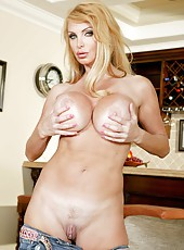 Glamorous mature goddess Stephanie Wylde shared with her charming forms