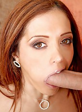 Mesmerizing milf with excellent body Francesca Le gets naked and fucked hot