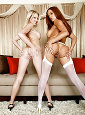 Meet two busty lesbians Francesca Le and Shawna Lenee that can make you wild