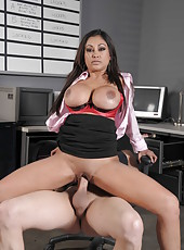 Hardcore and crazy fuck with a hot brunette bitch named Priya Anjali Rai