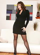 Two mind-blowing milfs Ana Nova and Ava Devine making us wild with their curvy lines