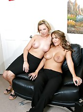 Lesbian action with sexy girls named Bree Barrett and Trina Michaels