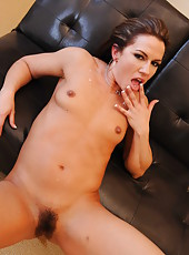 Inari Vachs has a pretty hairy pussy but today she will be fucked in the ass