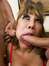 So hot and big milf as Ava Devine need to be fucked by two dick in hot threesome