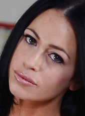 Enjoy fabulous milf Aryana Augustine charms us with amazing big boobs and sweet holes