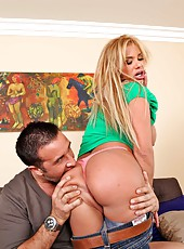 Noteworthy milf Shyla Stylez getting penetrated and drilled hard in ass