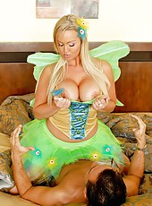 Gentle and crazy action with a passionate blonde whore Abbey Brooks